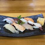 たか寿司 - 料理写真:並鮨1100円!
