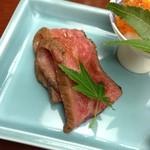 15441314 - 前菜(ローストビーフ)