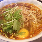 SUN華鳳 - 酸辣湯麺(卵入り)