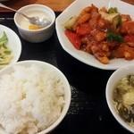 麒麟坊 - 酢豚定食