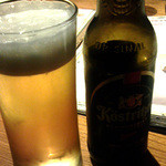 個室居酒屋 Serge源's - 黒ラベルとケストリッツァーのビン。