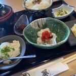 藁焼きと水炊き 葵 - ランチ嵐山御膳
