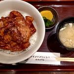 154426687 - 豚丼(ライス大盛り)