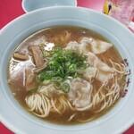 餃子大学 - ワンタン麺