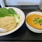 煮干しらーめん専門店 麺屋 晴 - 料理写真:晴式坦々つけ麺@900円