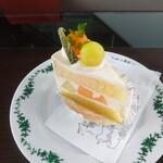 アマルフィイ ドルチェ - メロンのショートケーキ
