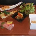 15444324 - 彩り前菜の盛り合わせ 6種類