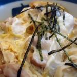 よこかわ - 【2012年10月】親子丼接写。