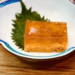 金田 - 雲丹の煮凝り 800円