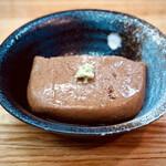金田 - 胡麻豆腐 590円