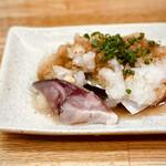 金田 - 鯖のたたき 800円