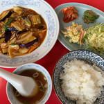 154440875 - ランチB(麻婆茄子定食)