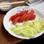 大衆酒場 斎藤 - 冷やしトマト 340円
