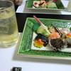 割烹ゆうな - 料理写真:大将のおまかせ料理6種盛りと梅酒