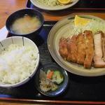 15446114 - ロースカツ定食