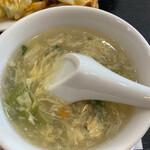 中華料理 香香 - スープ