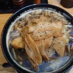 武士道 - 黒醤油野菜大盛肉侍♪