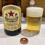 餃子のラスベガス - サッポロ赤星