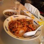中華 番番 - 特製肉バンバンライス