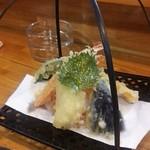 味彩 - 天ぷら盛合せ