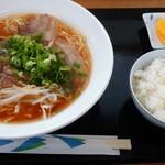 紫川ラーメン - ラーメンライス810円