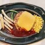 レストランオオタニ - ハンバーグステーキ/チーズ(1280円)