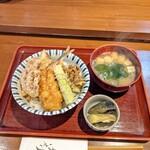 天ぷら はせ川 - 天丼(1000)