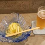 庵樹 - 冷製 冬瓜と帆立の博多寄せ