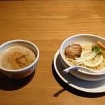 鯛骨らぁ麺 あぐら - 料理写真:10食限定 濃厚煮干しつけ麺 800円