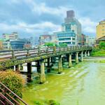 154493602 - ◎三条大橋は東海道五十三次の西の起点。駅伝発祥の地。