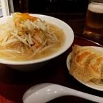 餃子とタンメン 天 - タンメンセット(^ー^)