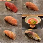 154508536 - 初夏のお寿司たち