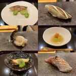 154508552 - 初夏のお料理、お寿司