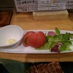 海鮮処 函館山 - 冷やしトマト
