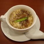 15451364 - ビストロランチのスープです♪