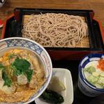 嘉司屋 - カツ丼セット¥1100