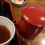 嘉司屋 - 蕎麦湯でシメ