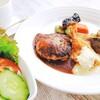 洋食専門店くろくろ - 料理写真:牛スタミナ焼き、ハンバーグ、海老フライのオリジナルメニュー