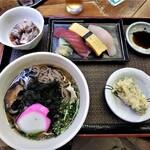 うどん七福 - 料理写真:七福セット¥1,000