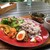 カフェ おきもと - 料理写真:欧風カレーとキーマカレーのランチ