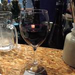 あひる ビアホール - つまみがチーズならワインにチェンジ!