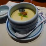 梅の花 - 茶碗蒸し