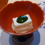 梅の花 - 嶺岡豆腐(木の芽味噌)