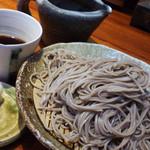 そば 松尾 - ざる蕎麦 中盛り800円