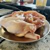 東千歳バーベキュー - 料理写真:鶏肉ご登場