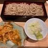 石臼挽き蕎麦とよじ - 料理写真:海鮮かき揚げせいろ