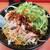 ラーメン山岡家 - 料理写真:ピリ辛よだれ豚風まぜそば・薬味ネギTP 2021.7月