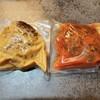 ビストロ メルキュール - 料理写真:ハンバーグはデュクセルソースとトマトソースにしました。