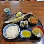 和 - さんま定食