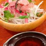 ビヤレストラン 銀座ライオン - サラダ(小鉢)